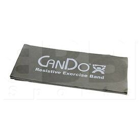 """105246 CanDo Low Powder Resistive Exercise Band Silver XX-Heavy 48"""""""