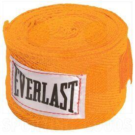 "4455OR Everlast Boxing Hand Wraps Orange 120"""