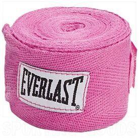"4455PK Everlast Boxing Hand Wraps Pink 120"""
