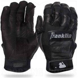 20590F5 Franklin Sports MLB CFX Pro Baseball/Softball Batting Gloves Black