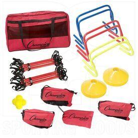 SAGKIT Champion Sports Speed Agility Kit Bunddle