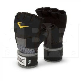4355BL Everlast Evergel Hand Wraps Black