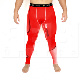 CP1212YL Dux Sports Dots Compression Pant Red