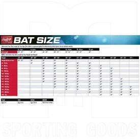 TB1511-25 Rawlings 5150 USA Baseball T-ball Bat Series -11 2 5/8