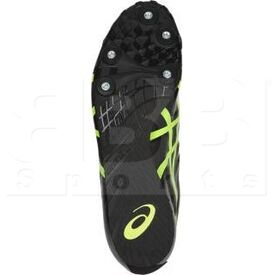 G404Y-9007-8 Asics Hyper LD 5 Track and Field Shoes Black/Safe Yellow