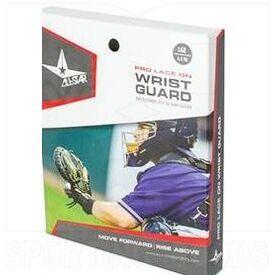YG-2 All-Star Pro Lace on Catcher's Wrist Guard Black