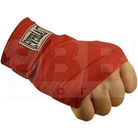 """4456SC Everlast Boxing Hand Wraps Red 180"""""""