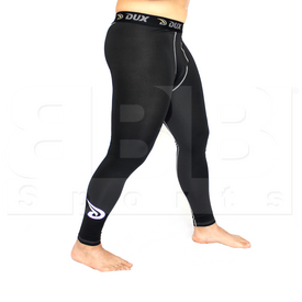 CP1810YL Dux Sports Solid Compression Tight Pant Black