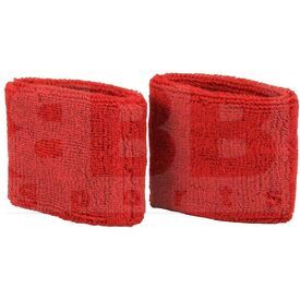 AC0009-601 Nike Swoosh Sweat Wristband Red