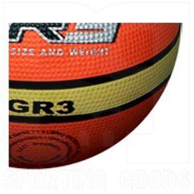 G20-3 Molten Bola de Baloncesto de Goma para Interiores / Exteriores GR3 Tamaño 3