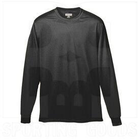 789.080.L Augusta Camisa de Microfibra de Manga Larga para Niños Negra