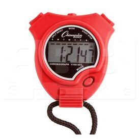 910RD Champion Sports Stopwatch Red