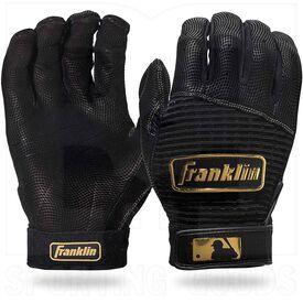 20984-BKGO-XXL Franklin Sports MLB Pro Classic Baseball Batting Gloves