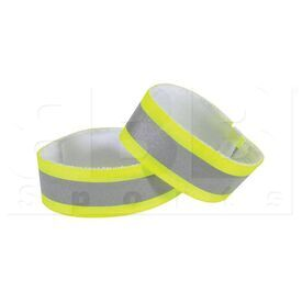 NS2020-0119 Nathan Reflective Ankle Bands Yellow