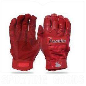 20593F5 Franklin Sports MLB CFX Pro Baseball/Softball Batting Gloves Scarlet