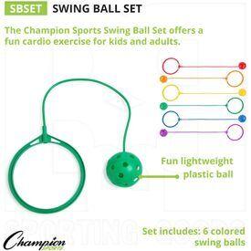 SBSET Champion Swing Ball Set