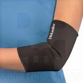 74184 Mueller Elastic Elbow Support Black