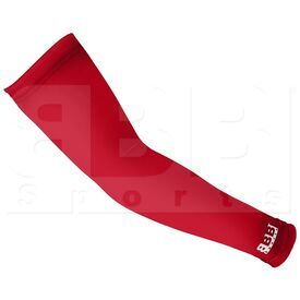 BASRDYS BBB Sports Moisture Wicking Compression Arm Sleeve Red