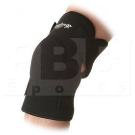 RG441 Rawlings Closed Knee Support w/ Straps Black