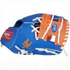 "2200-NYM Rawlings MLB New York Mets Glove 10"""