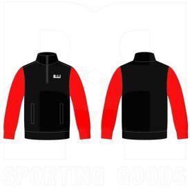 BSS14ZJ BBB Sports Sublimated 1/4 Zipper Jacket