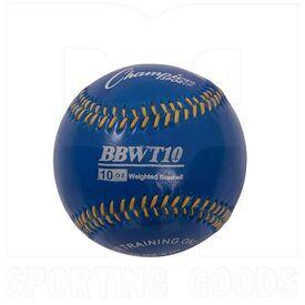 "BBWTSET4 Champion Weighted Training Baseballs 9"" Set of 4"