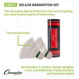 DBSET Champion Deluxe Badminton Set