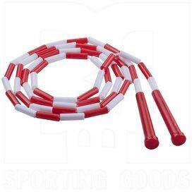 PR7 Champion Sports Segmented Plastic Jump Rope 7 Feet Red/White