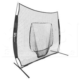 RBM77 Champion Sports Rhino Flex Portable Training Net 7'W x 7'H