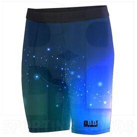 BSSKLCS BBB Sports Sublimated Knee Length Compression Sliding Short