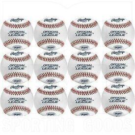 FSOLB1X Rawlings FSOLB1X Flat Seam Baseball Practice Ball