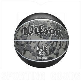"1500-BRO Wilson NBA Brooklyn Nets Tiedye Basketball - Size 7 (29.5"")"
