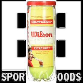 T1001 Wilson Championship Extra Duty Tennis Ball (3 Ball Can)