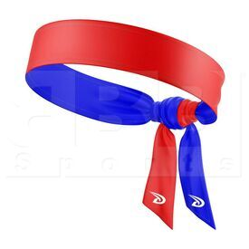 HB2947TH Dux Flex Tie Double-Double Headband Reversible Red/Royal
