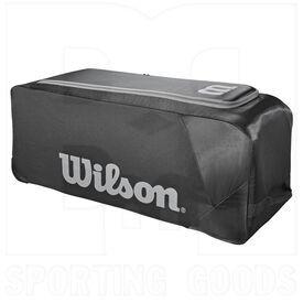 9710BK Wilson Bulto con Ruedas para Equipo de Beisbol/Softbol