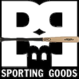 "R271MB-34 Rawlings Velo Adirondack Hard Maple Wood Baseball 271 Profile Bat w/ 15/16"" Handle Black/Natural"
