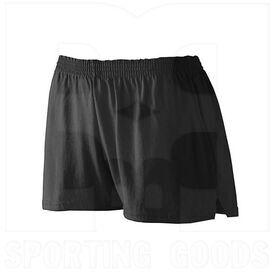 987.080.L Augusta Ladies Jersey Short Black
