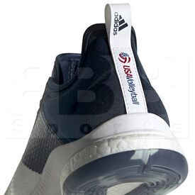 D97836-5.5 Adidas Crazyflight X 3 USA Volleyball Women's Shoes Cloud White/Collegiate Navy/ Power Red