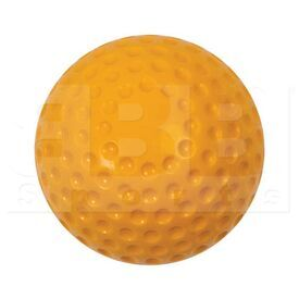 """DB10 Champion Pitching Machine Balls Soft Dimpled Baseball 9"""" Yellow Dozen"""