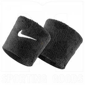 AC0009-001 Nike Swoosh Pulseras de Sudor Negra