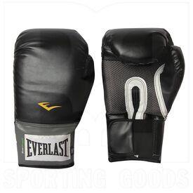 1200015 Everlast Pro Style Training Boxing Gloves 16oz Black