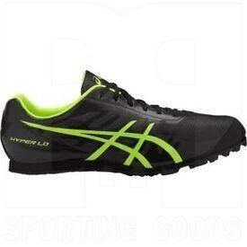 G404Y-9007-8 Asics Hyper LD 5 Zapatillas de Atletismo Negro/Amarillo