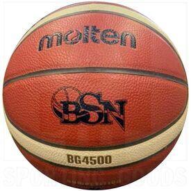 """G45-7 Molten BG4500 Bola Oficial de Baloncesto Superior Nacional de Puerto Rico Aprobado por FIBA Size 7 (29.5"""")"""