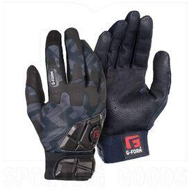 GB0102345 G-Form Adult Pro Batter's Padded Batting Glove Black/Grey