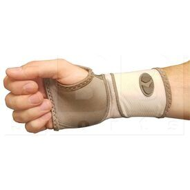77014 Mueller Life Care Contour Wrist Support Sleeve - Taupe X-Large