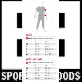 SN0102016 G-Form Camisa Pro con Proteccion de Pecho para Adulto Negro