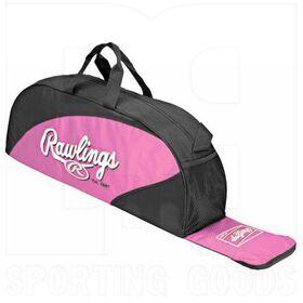 PMEB-PK Rawlings Pink Playmaker Baseball/Softball Bag Pink