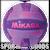 VSV106-PUR Mikasa Squish Volleyball Purple/Pink