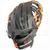 "ST1152-O Tamanaco ST-Series Natural Leather Infield Glove 11.5"" Black/Orange RHT"