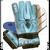 GK1810 VKM Soccer Goalkeeper Gloves Spider Design Columbia/Black/White